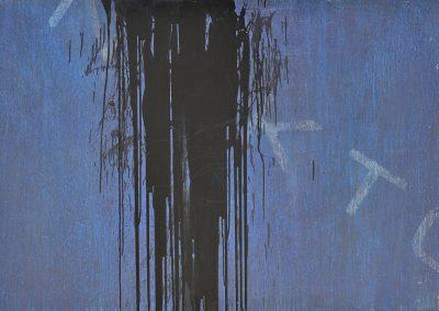 Fejős Miklós: Nekton /// 2005 · 125 × 185 cm · akril, farost
