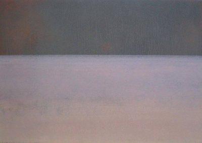 Fejős Miklós: Paks III. /// 2004 · 125 × 185 cm · akril, farost