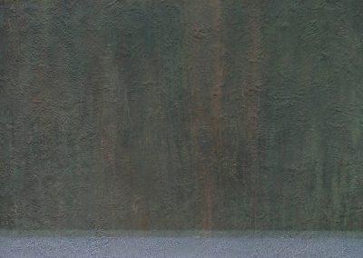 Fejős Miklós: Sió I. /// 2006 · 120 × 90 cm · akri, farost