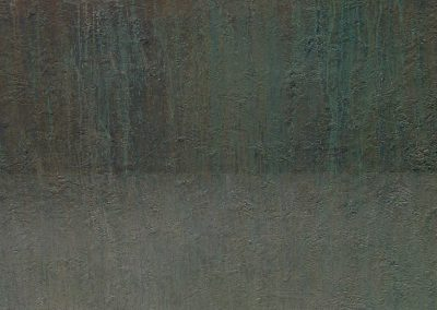 Fejős Miklós: Sió II. /// 2006 · 120 × 90 cm · akril, farost