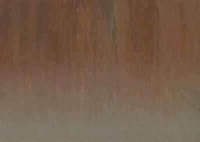 Fejős Miklós: Sugovica /// 2006 · 95 × 145 cm · akril, farost