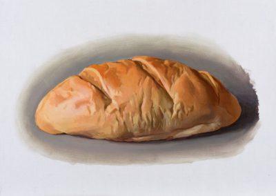 Fejős Miklós: Kenyér XII. /// 2015 · 37 × 52 cm · olaj, vászon