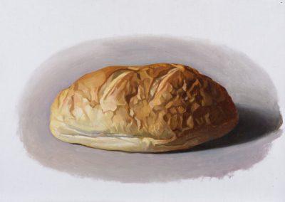 Fejős Miklós: Kenyér XIV. /// 2015 · 37 × 52 cm · olaj, vászon
