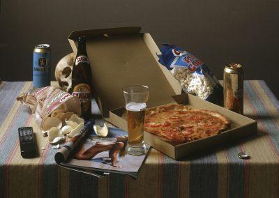 Fejős Miklós: Nagy pizzás vanitas